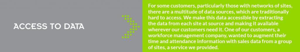 CARAGON Business Customer Access to Data